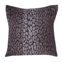 Make-Your-Own-Pillow Arabia 20-Inch Square Throw Pillow Cover in Grey