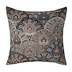 Make-Your-Own-Pillow St Petersburg 20-Inch Square Throw Pillow Cover in Blue