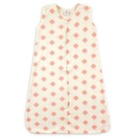 Touched by Nature® Size 0-6M Rosette Organic Cotton Sleeping Bag in Pink