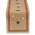 Design Imports July Stars 74-Inch Table Runner