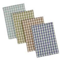 DII Design Imports Heavyweight Lakehouse Dishcloth (Set of 4)