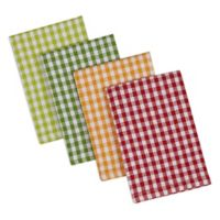 DII Design Imports Heavyweight Peapatch Dishcloth (Set of 4) in Green