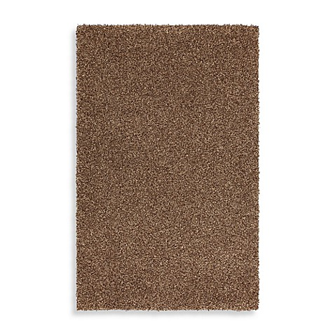 Mohawk Home Kodiak Rectangle Shag Rug In Hazel Gold
