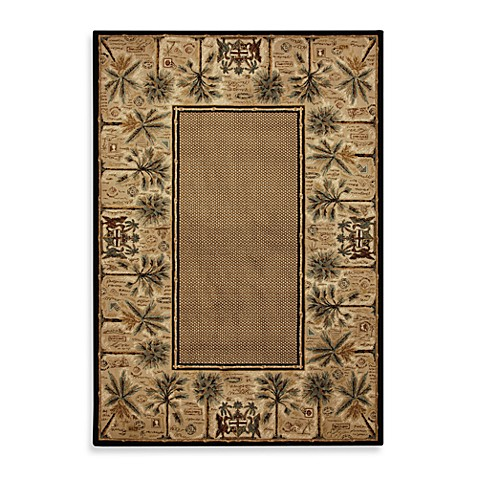 Mohawk Home Select Versailles Courtyard Palms 8-Foot x 11-Foot Rug