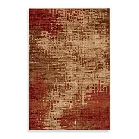 Mohawk Home Select Kaleidoscope 2-Foot 1-Inch x 7-Foot 10-Inch Runner in Red