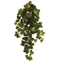 Nearly Natural 31-Inch Strawberry Bush (Set of 2)