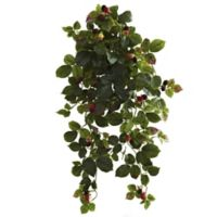 Nearly Natural 32-Inch Raspberry Bush (Set of 2)