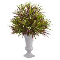 Nearly Natural 37-Inch Burgundy Grass Artificial Plant