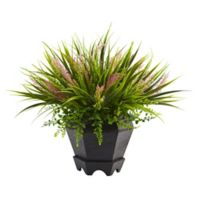 Nearly Natural 15-Inch Grass with Planter