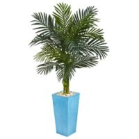 Nearly Natural 5-Foot Golden Cane Palm Artificial Tree