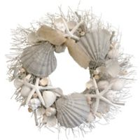 Lumiere Sunset Ocean Waves Wreath