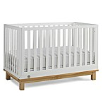 Fisher-Price® Riley 3-in-1 Convertible Crib in White/Natural