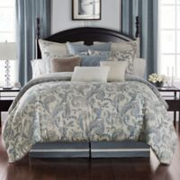 Waterford® Florence Reversible King Duvet Cover Set in Chambray
