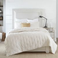 Coastal Living Coastal Ticking Stripe Twin Quilt Set in Taupe