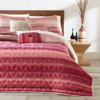 Azalea Skye Diya Full/Queen Quilt Set in Bright Red