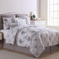 VCNY Home Willa 8-Piece King Comforter Set in Grey