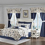 Madison Park Essentials Fairhaven 24-Piece California King Coverlet Set in Blue
