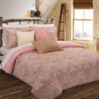 Nouvelle Home Medallion Reversible King Comforter Set in Tan