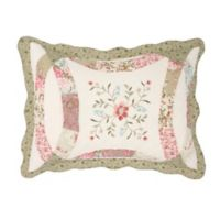 Nostalgia Home™ Eve King Pillow Sham in Ivory/Sage