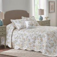 Nostalgia Home® Juliette Full Bedspread in Yellow/Green