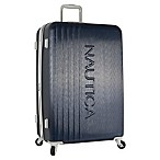 Nautica® Life Boat 28-Inch Hardside Expandable Spinner in Navy/Grey