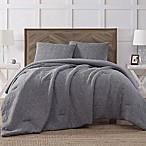Antik Batik Ocean Wash 3-Piece King Piece Comforter Set in Grey