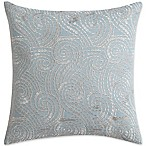 Christian Siriano Ombre Lace 16-Inch Square Throw Pillow in Blue