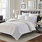 Stone Cottage Mosaic Twin Comforter Set in White