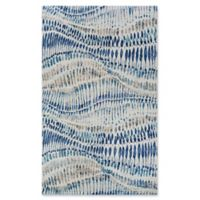 Couristan® Charles Abstract 9'2 x 12'5 Area Rug in Bone/Blue