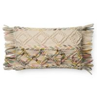 Magnolia Home by Joanna Gaines Anne Oblong Multicolor Throw Pillow
