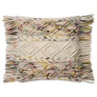 Magnolia Home by Joanna Gaines Anne Square Multicolor Throw Pillow