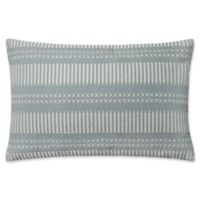 Magnolia Home by Joanna Gaines Isabelle Oblong Throw Pillow in Light Blue