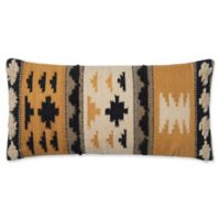 Magnolia Home by Joanna Gaines Walton Oblong Throw Pillow in Gold/Black