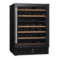 Wine Enthusiast® N'finity Pro Dual Zone Glass Wine Refrigerator