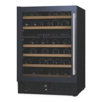 Wine Enthusiast N'Finity® Pro Dual Zone Wine Cellar with Left Glass Door