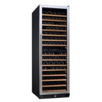 Wine Enthusiast® N'finity Pro Dual Zone Stainless Steel Wine Refrigerator with Right Door