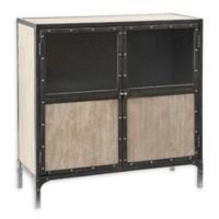 Madison Park Cirque 2-Door Accent Cabinet in Natural