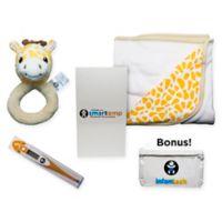 Infanttech 5-Piece Giraffe Smarttemp Gift Set in Yellow