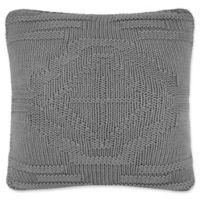 Pendleton Santa Clara 20-Inch Square Throw Pillow in Grey