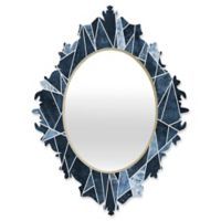 DENY Designs Elisabeth Fredriksson Shattered Sky Medium Baroque Mirror