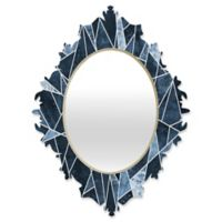 DENY Designs Elisabeth Fredriksson Shattered Sky Small Baroque Mirror
