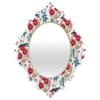 DENY Designs Belle13 Retro Floral Fiesta 2 Medium Baroque Mirror