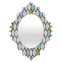 DENY Designs Heather Dutton Foliar Small Multicolor Baroque Mirror