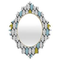 DENY Designs Heather Dutton Foliar Medium Multicolor Baroque Mirror