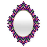 DENY Designs Bianca Aztec Diamonds Fiesta Medium Baroque Mirror
