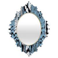 DENY Designs Caleb Troy Placid Blue Safari Baroque Mirror