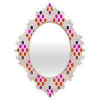 DENY Designs Holli Zollinger Diamond Weave Small Baroque Mirror