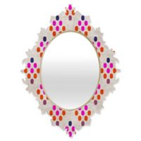 DENY Designs Holli Zollinger Diamond Weave Medium Baroque Mirror