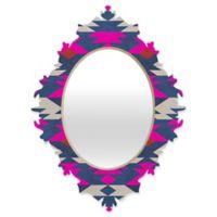DENY Designs Holli Zollinger Diamond Kilim Small Baroque Mirror