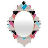 DENY Designs Gabi The Space Between Small Baroque Mirror